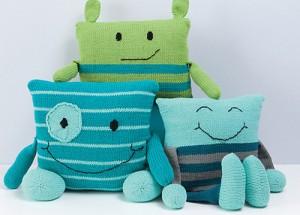 V varnih hišah ali bolnišnicah malčkom v stiski pridih domačnosti olajša bivanje. Foto: Rebecca Danger, Knit a Monster Nursery