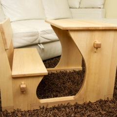 "BELINOVA KLOP'CA – SERIJA ""SKRITA BUKEV"" / BELIN'S BENCH – COLLECTION ""HIDDEN BEECH"""